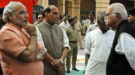 Top BJP ministers attend RSS meet, Opposition questions govt's accountability