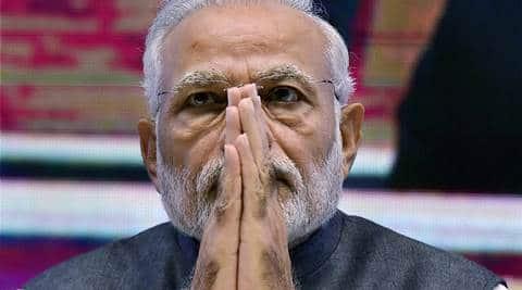 fadnavis, modi, modi shivaji statue, modi bhoomi poojan shivaji statue, shivaji statue inauguration, modi shivaji statue bhoomi poojan, fadnavis shivaji statue, india news
