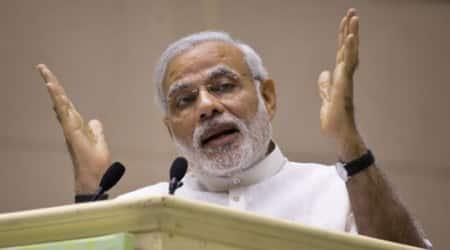 Modi pays tributes toAmbedkar