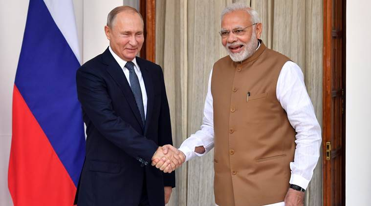 india russia summit, modi putin meeting, putin in india,, india russia business summit, indo russia summit, india russia trade, s-400 deal, india russia deal