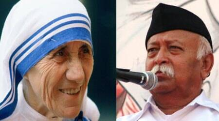 Mother Teresa didn't deserve Nobel Peace prize: RSS pracharak