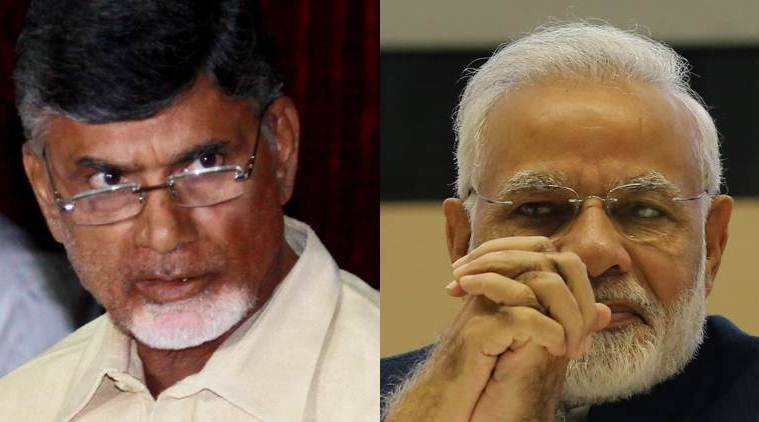 Andhra Pradesh CM Chandrababu Naidu leads TDP out of BJP-led govt