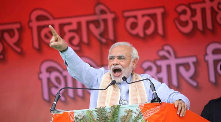 Narendra Modi, PM Modi, jungle raj,  Modi Bihar, gaya rally, BIhar Modi, Jungle raaj bihar, bihar jungle raaj, Modi bihar rally, Modi gaya rally, Modi Nitish, Nitish modi, Bihar polls, Bihar elections, Bihar news, India news