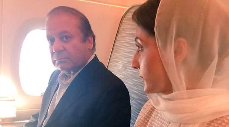 Mawaz Sharif maryam sharif pakistan