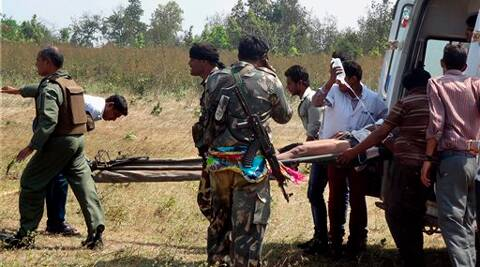 Maoists had on Tuesday ambushed a security patrol killing 16 people, including 11 CRPF personnel in Chhattisgarh.