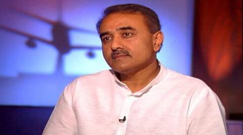 Senior NCP leader Praful Patel.