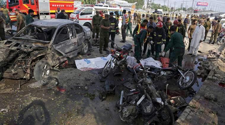Lahores blast, Pakistan blast, Arfa Karim IT Tower blast, Arfa Karim IT Tower bomb blast, bomb blast lahore, Pakistan news, Lahore news