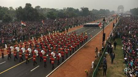 Republic Day parade highlights: India displays military might on Rajpath