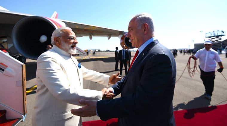 Narendra Modi, Modi Israel, PM Modi ISrael visit, Benjamin Netanyahu, Netanyahu, Modi-Netanyahu,