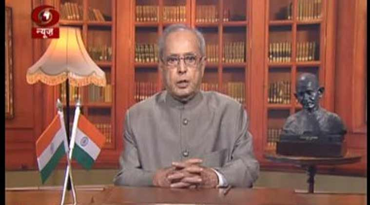 Pranab Mukherjee, farewell address, pranab mukherjee speech, president pranab mukherjee, ram nath kovind, presidential elections, latest news, india news, indian express