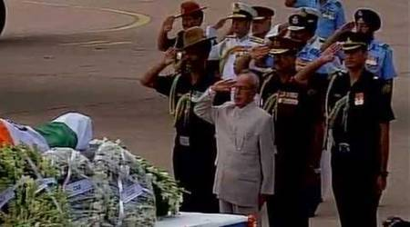 Mortal remains of former president APJ Abdul Kalam flown to Rameswaram