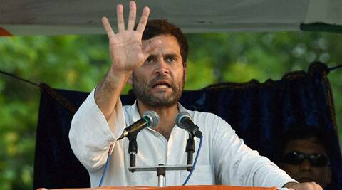 Rahul's rally in Kolkata