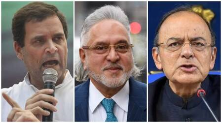 """Gandhi on Thursday accused Jaitley of lying to hide the """"free passage"""" he allegedly gave to Mallya to escape from the country."""