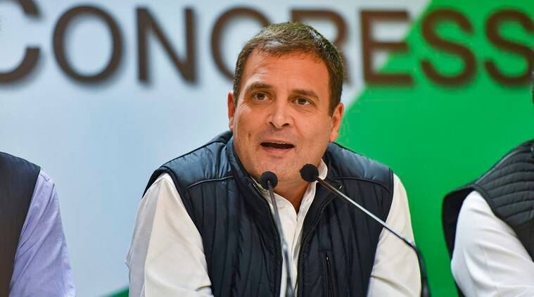 Rahul Gandhi takes dig at PM, says he is implementing Congress's 'Grand Stupid Thought'