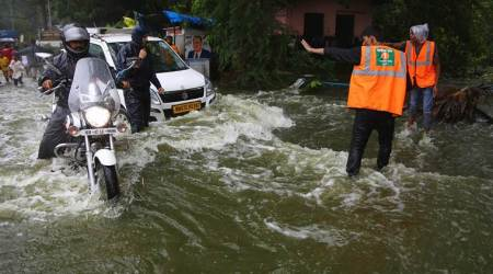 Mumbai rains LIVE updates: Five killed as heavy showers batter Maharashtra, road, rail traffic hit