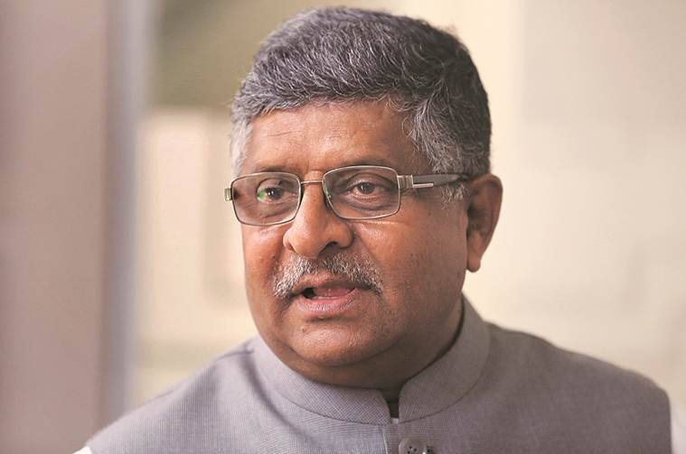 Dream budget… has every support for pushing India to be electronic hub: Ravi Shankar Prasad