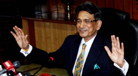 Justice Lodha said that there were repeated attempts being made to spread incorrect information about the functioning and decisions of the collegium. (Source: Express Photo by Prem Nath Pandey)
