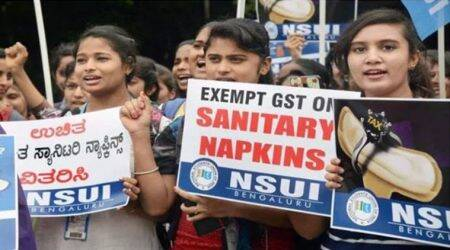 After year-long protest, sanitary napkins exempted from GST