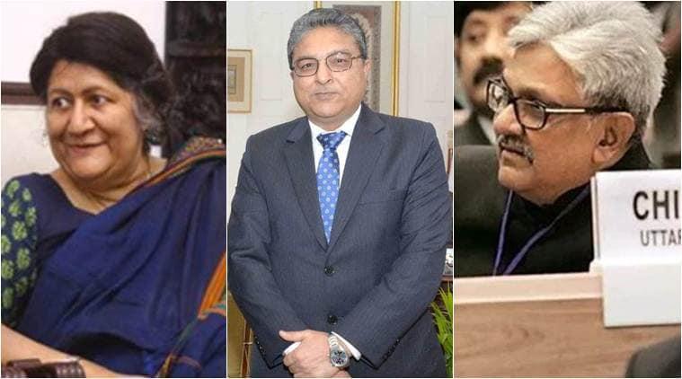 Justices Indira Banerjee, Vineet Saran, KM Joseph take oath as Supreme Court judges