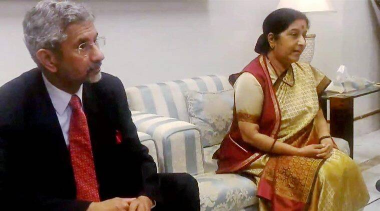 Sushma Swaraj, Sushma Swaraj Bahrain, India Arab meeting, Sushma Swaraj Arab meeting,