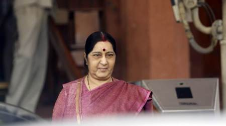 Sushma Swaraj to join 125th anniversary commemoration of Mahatma Gandhi's train eviction