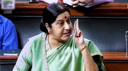 How Sushma Swaraj reacted to her being seen as a contender for presidential election