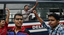 Students stage protest outside UPSC office