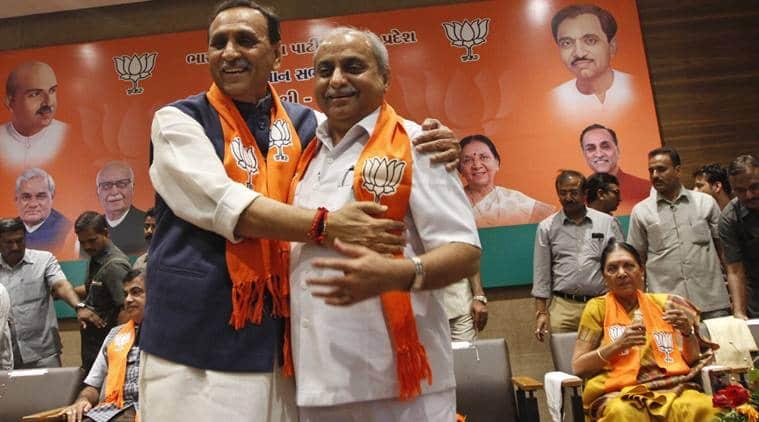 Vijay Rupani, Gujarat, Gujarat CM, Vijay rupani CM, Rupani CM, Gujarat new CM, Gujarat CM announcement, Nitin patel, gujarat news, india news