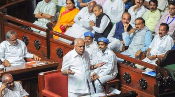 yeddyurappa's resignation, karnataka floor test, karnataka trust vote, karnataka polls, karnataka elections,
