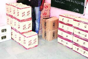 Prohibition cases come down,IMFL seizures go up in Vadodara