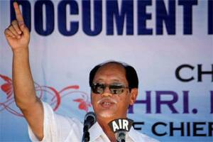 Neiphiu Rio sworn in as Chief minister,11 others take oath as ministers in NagalandAssembly