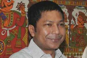 Mukul Sangma sworn in as Meghalaya chief minister for second straightterm