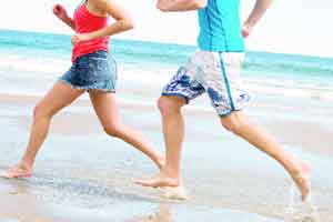 Barefoot running can cause injuries,too