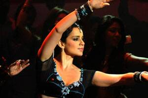 Kangana Ranaut turns nautch girl for Rajjo