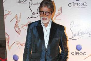 Amitabh Bachchan all praises for ChristianLouboutin
