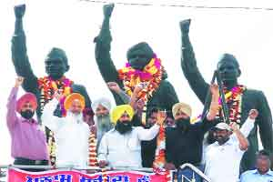 Martyrdom of Bhagat Singh,Rajguru,Sukhdev remembered