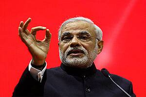 Indian Americans protest against WIEF for cancelling Narendra Modi'sinvitation