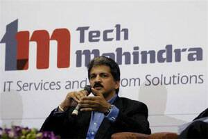 Goldman Sachs starts Satyam Computer Services Ltd,Tech Mahindra with 'buy' ratings