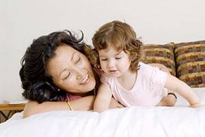 Mothers asked nearly 300 questions a day bykids