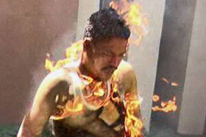 Demolition drive horror: 5 people set themselves on fire in Rajkot