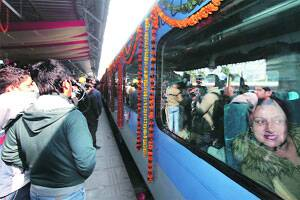 New Shatabdi registers around 70 pc occupancy