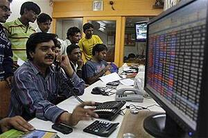 BSE Sensex continues its losing streak,down 46 points in early trade,sugar sharessurge