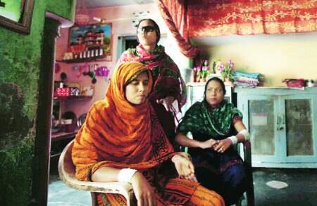 In acid victims' story,a widow,nine daughters and a village