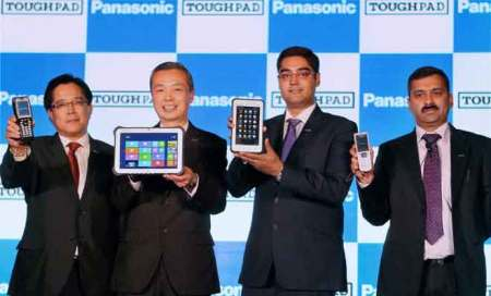 Panasonic's Toughpad launches in India with Windows 8,Android
