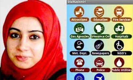 Girl becomes first Kashmiri to develop Android app