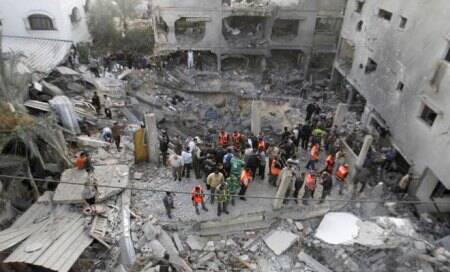 Israel responds to Gaza rocket fire with airstrike