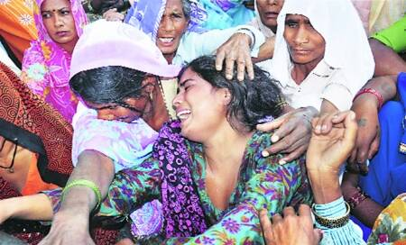 4 UP Dalits,missing for a week,foundmurdered