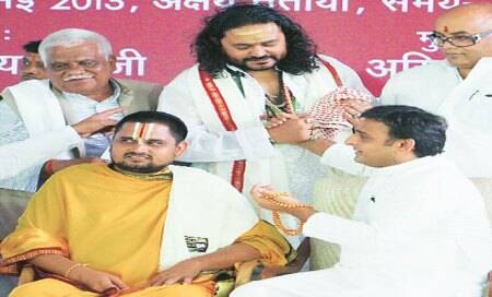 Akhilesh: False cases against Brahmins will be withdrawn