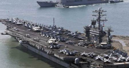 North Korea slams US aircraft carrier's arrival in South Korea