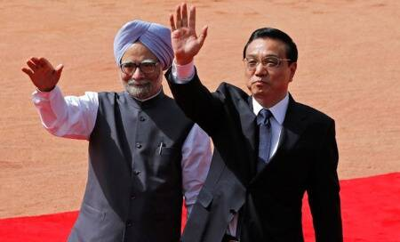 India and China ink eight agreements on trade,water resources